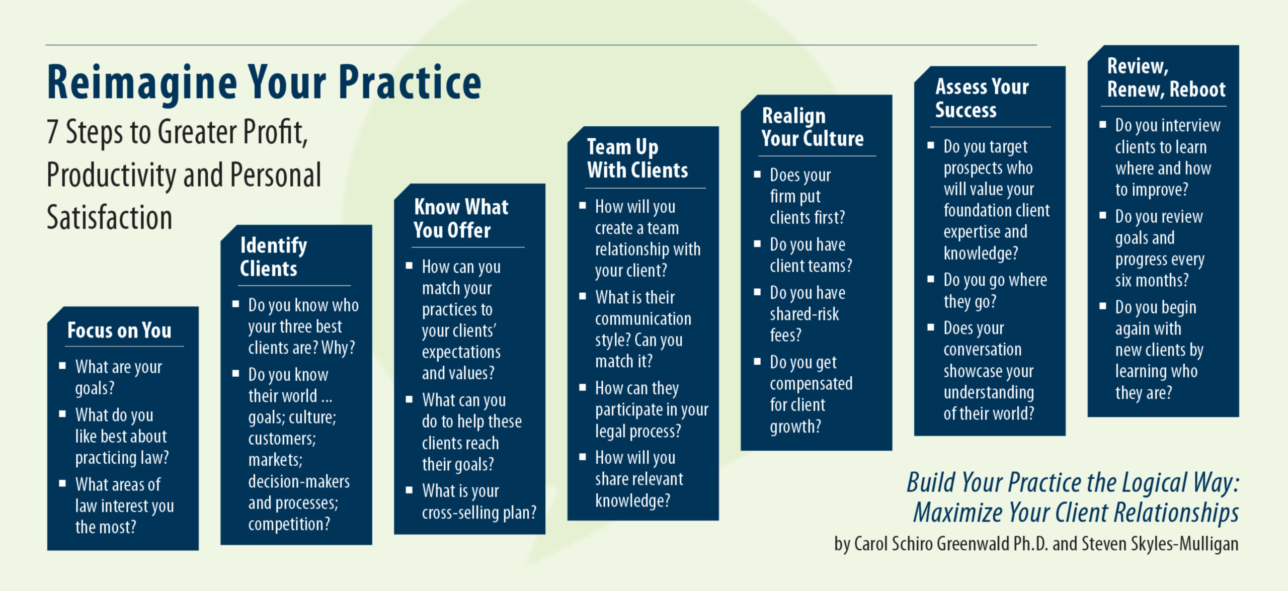 Reimagine Your Practice: 7 Steps to Greater Profit, Productivity and Personal Satisfaction
